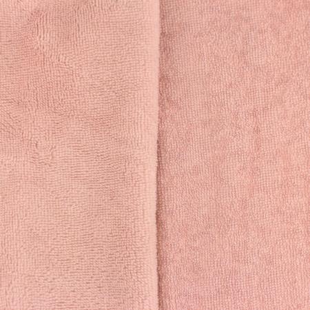 Eponge bambou / coton doudou coloris rose Nude