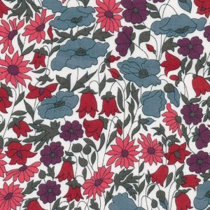Liberty Poppy and daisy coloris P