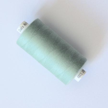 fil à coudre couture vert opaline coats 1000m 1000