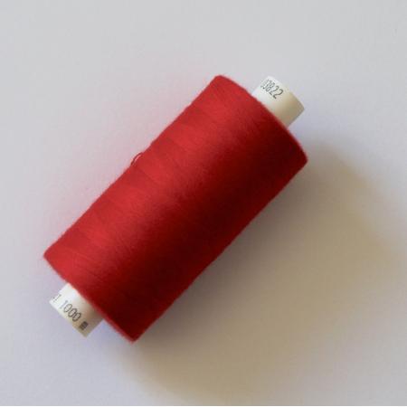 Fil à coudre Coats Coloris rouge - 1- Mercerie