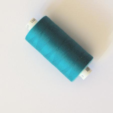 Fil à coudre Coats Coloris bleu paon - 1- Mercerie