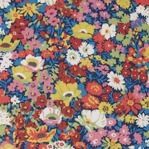 Tissu Liberty Thorpe multicolore springtime