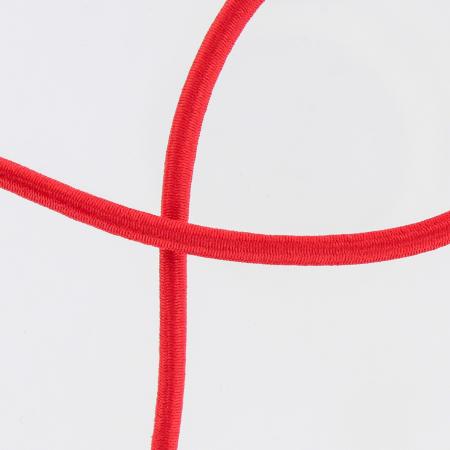 Elastique cordon 5mm rouge