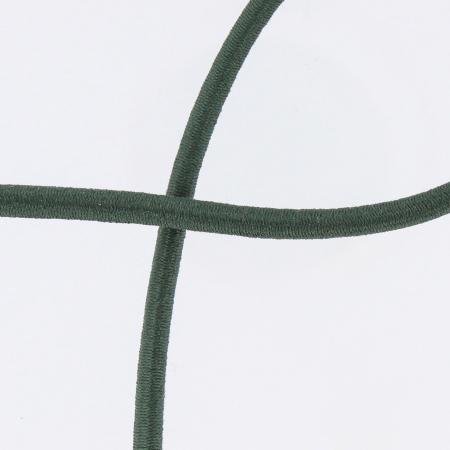 Elastique cordon 5mm vert foncé