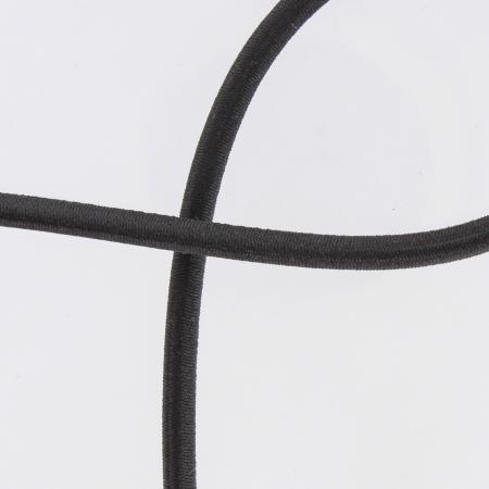Elastique cordon 5mm noir