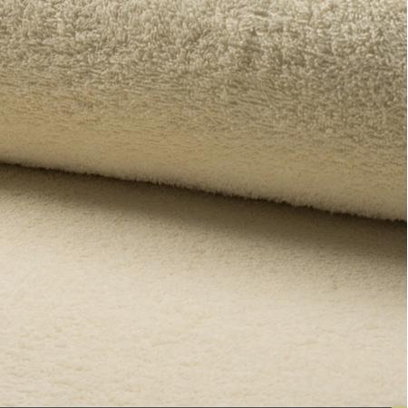 Coton éponge coloris écru