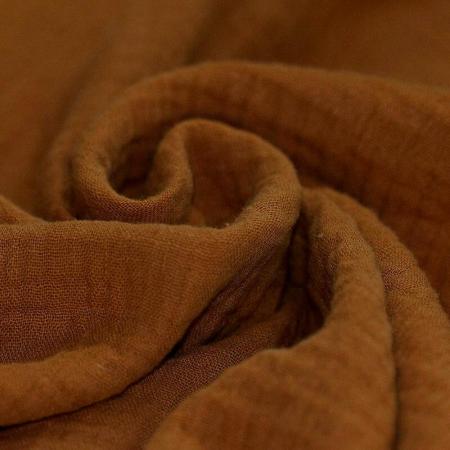 tissu double gaze coton écureuil Tissu à la coupe mercerie qualité coton enfant femme couture patron