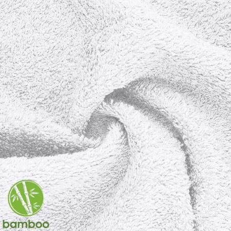 bambou éponge coloris blanc
