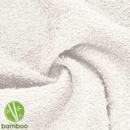 Eponge bambou coloris écru