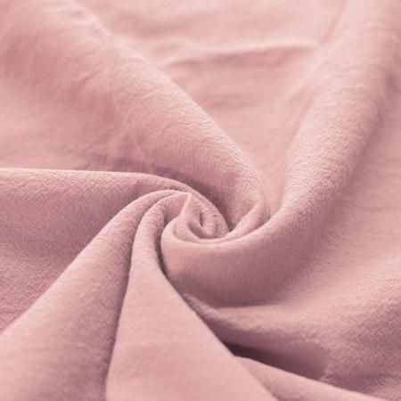 Coton lavé coloris rose nude