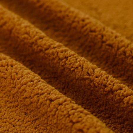 Teddy / moumoute bouclé coloris écureuil