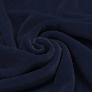 Velours nicky coloris bleu marine