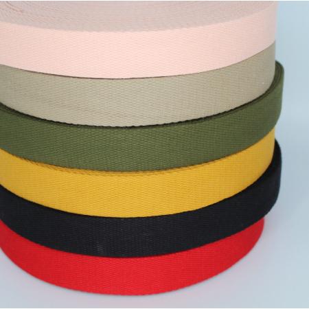 Sangle coton 30mm coloris au choix x1m