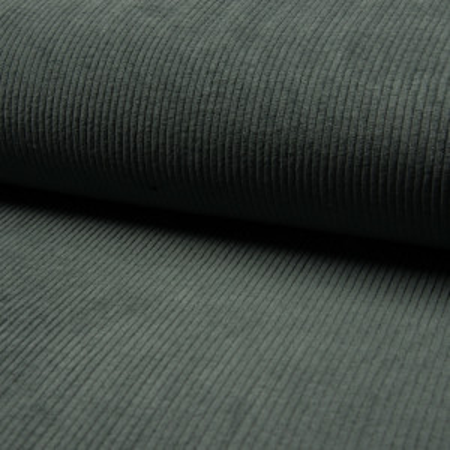 Velours grosses côtes coton coloris bleu marine