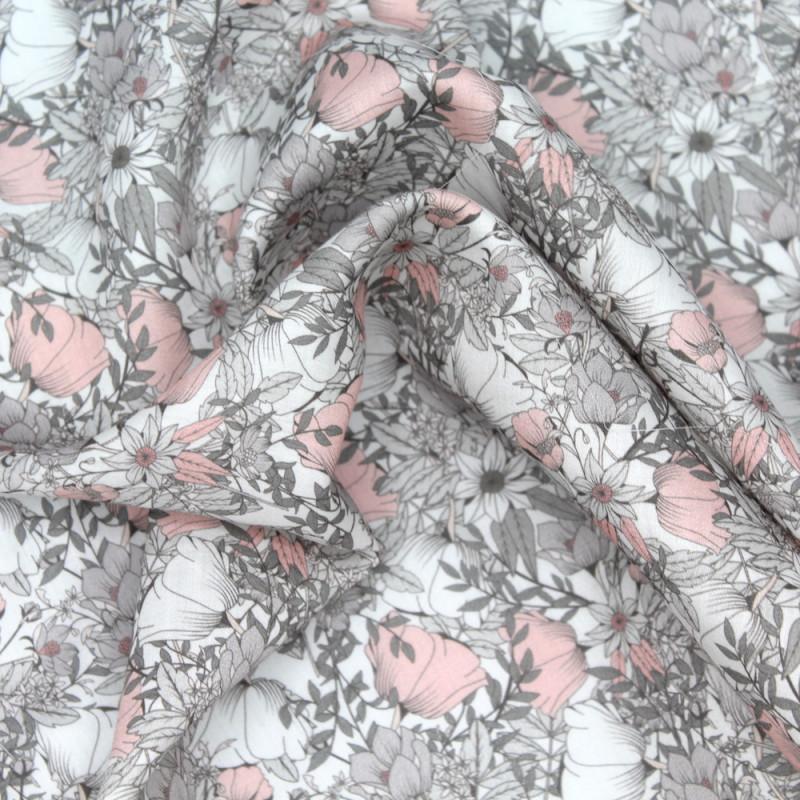 Tissu exclusif Batikou cotton lawn coton