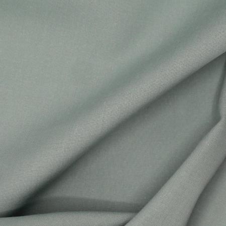 Voile de coton organique uni coloris sauge clair
