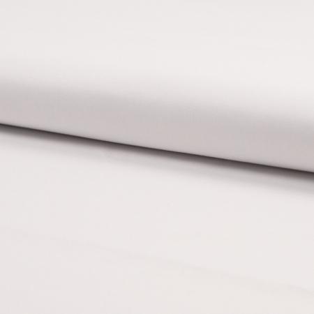Coton popeline uni blanc