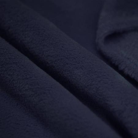 Polaire doudou coloris bleu marine