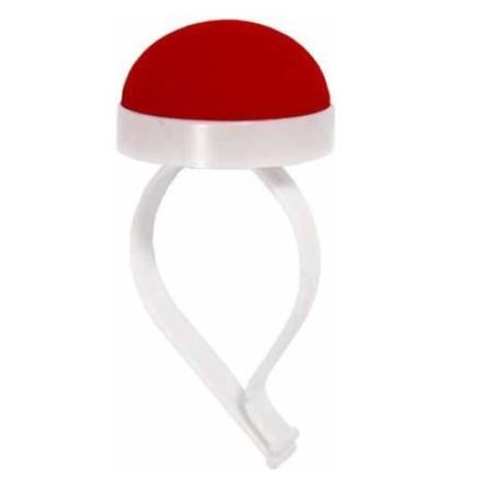 Bracelet pelote pique épingles mediac rouge
