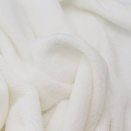 Eponge bambou / coton doudou coloris écru