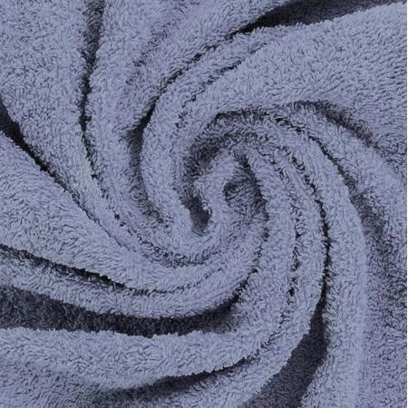 Coton éponge coloris bleu jean