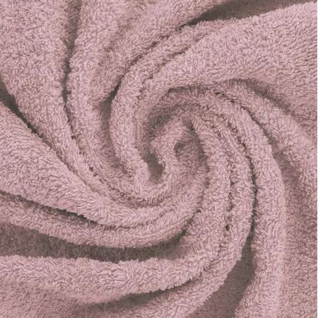 Coton éponge coloris ROSE ANCIEN