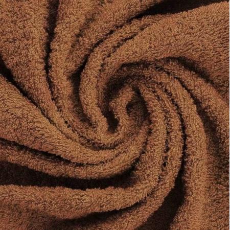 Coton éponge coloris roux écureuil