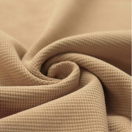 Jersey gaufré coloris CAMEL