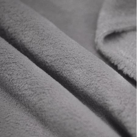 Polaire doudou coloris gris foncé