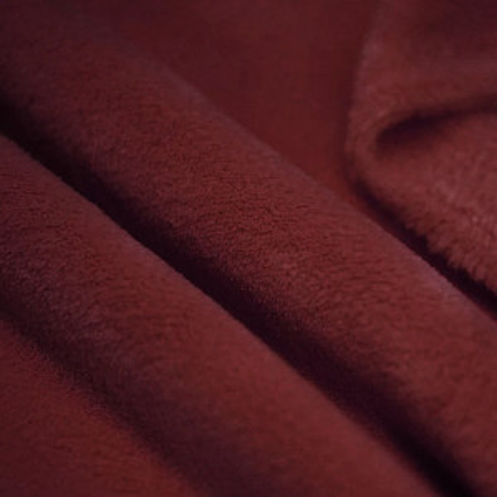 Polaire doudou coloris bordeaux