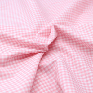 Coton vichy carreaux 2.7mm rose