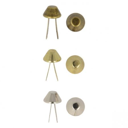 Patins de sac bronze argent doré