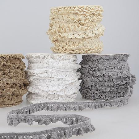Galon coton crocheté élastique 15mm x 1m