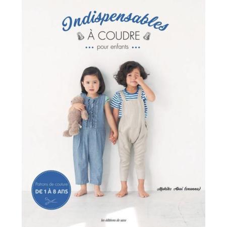 Livre couture indispensables à coudre pour enfants