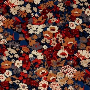 Tissu liberty thorpe burnt noisette