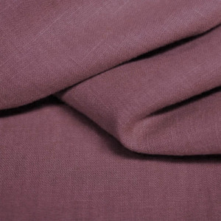 Lin lavé coloris violet colombin