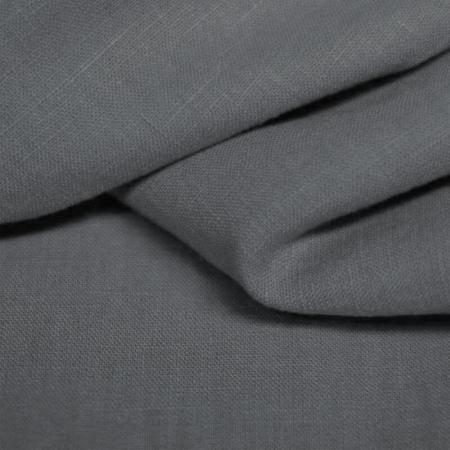 Lin lavé coloris gris Météorite