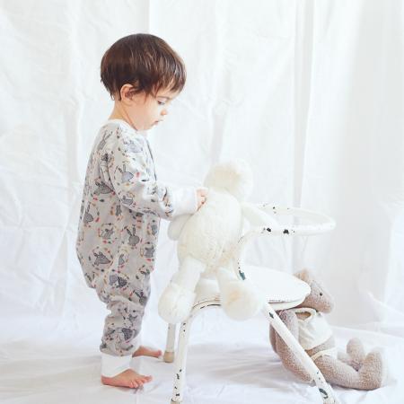 Patron de couture ikatee modèle bébé LISBOA