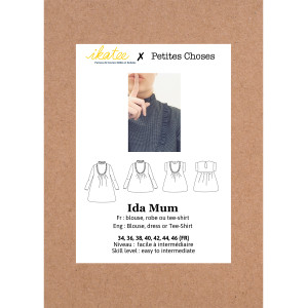 Pochette patron Ikatee IDA mum 34-46