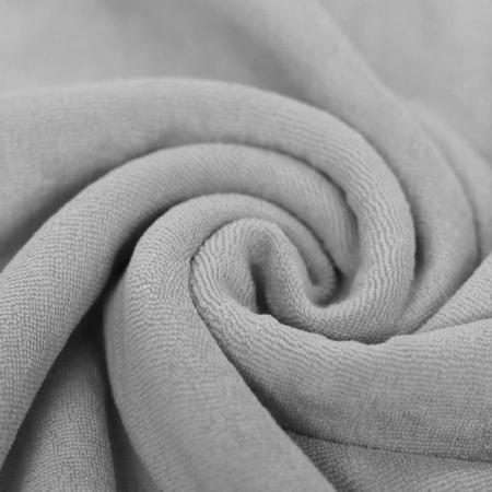 Jersey éponge coloris gris clair