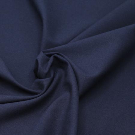Popeline de coton douce qualité SWEET coloris uni bleu marine