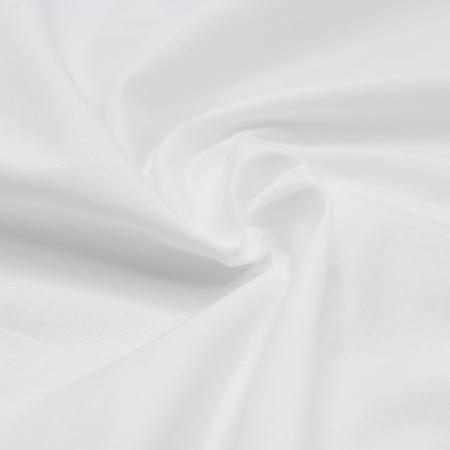 Popeline de coton douce qualité SWEET coloris uni blanc