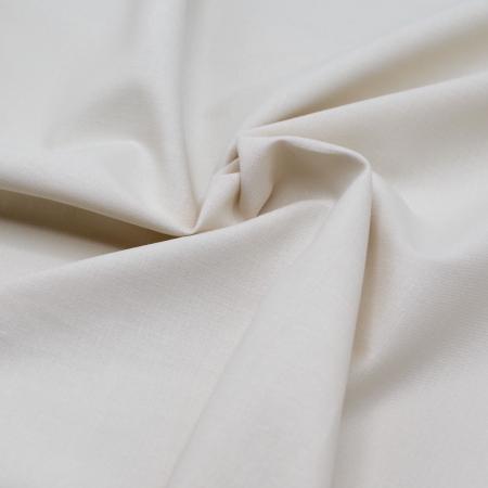 Popeline de coton douce qualité SWEET coloris uni crème