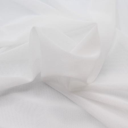 Filet doublure maillot de bain mesh blanc