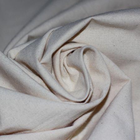 Toile de coton non blanchi
