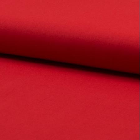 tissu voile de coton uni pour doublure coloris rouge