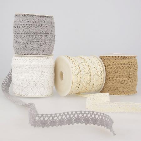 Galon coton crochet 15mm x 1M Coloris au choix